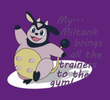 Miltank brings the trainers by shinypikachu