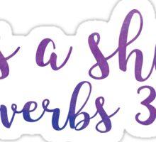 Proverbs 30:5 Sticker