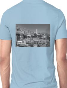 Bell Tower and Tables B&W Unisex T-Shirt