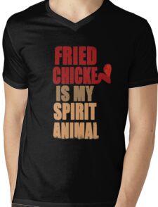 Fried chicken is my Spirit Animal Mens V-Neck T-Shirt