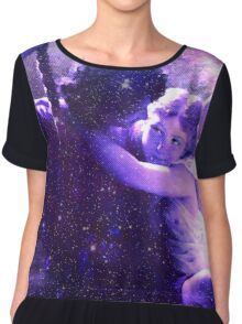She Fell in Love with the Universe Chiffon Top
