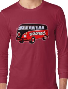 Duchovniacs Bus Long Sleeve T-Shirt