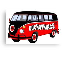 Duchovniacs Bus Canvas Print