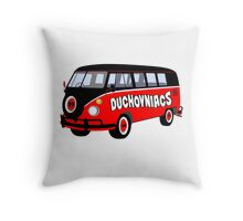 Duchovniacs Bus Throw Pillow