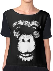 Everything's More Fun With Monkeys Chiffon Top
