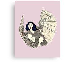 Kate Bush Bat Canvas Print