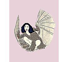 Kate Bush Bat Photographic Print