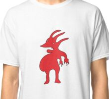 Grotesque Red Creature  Classic T-Shirt