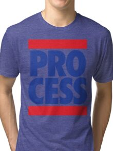 Process (Block Red/Blue) Tri-blend T-Shirt