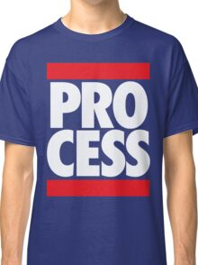 Process (Block Red/White) Classic T-Shirt