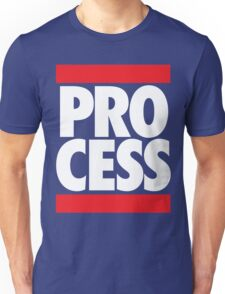 Process (Block Red/White) Unisex T-Shirt