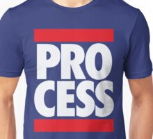 Process (Block Red/White) Unisex T-Shirt