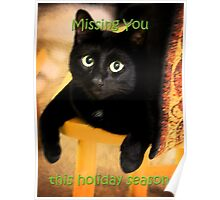 Missing You This Holiday Season Poster