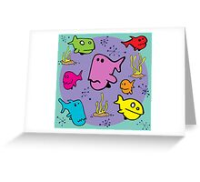 Fishies Greeting Card
