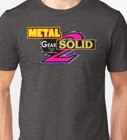 Metal Gear Solid 2: New Age of Heroes (with or w/o logo) Unisex T-Shirt