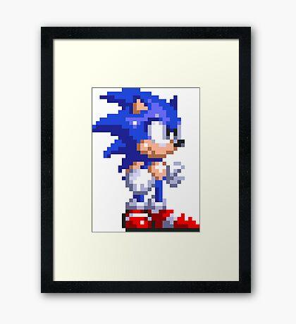 Sonic 3 Framed Print