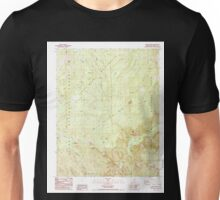 USGS TOPO Map California CA Tehipite Dome 295404 1987 24000 geo Unisex T-Shirt