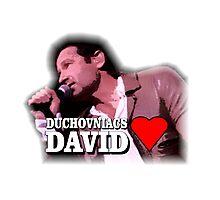 Duchovniacs Love David Photographic Print