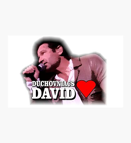 Duchovniacs Love David Photographic Print