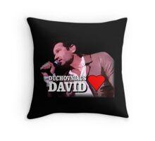 Duchovniacs Love David Throw Pillow