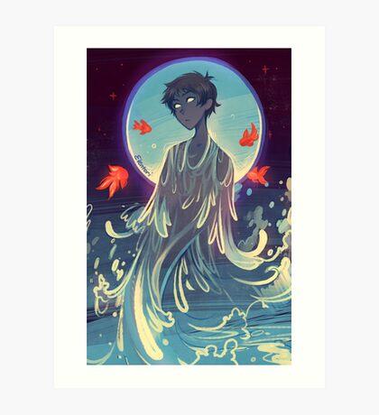 Song of Water Art Print