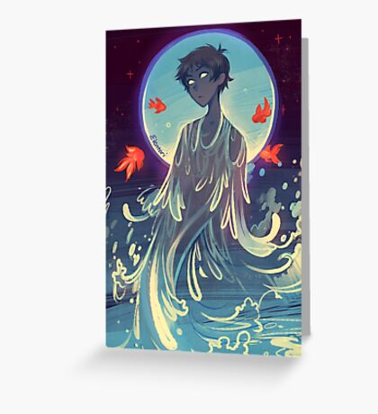 Song of Water Greeting Card