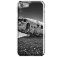 DC-3 In Iceland iPhone Case/Skin