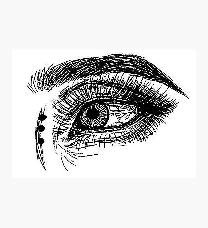 Eye #4 Photographic Print