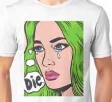Die Comic Girl Unisex T-Shirt