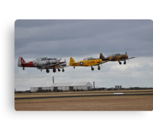 Southern Knights Harvards, Point Cook Airshow, Australia 2014 Canvas Print
