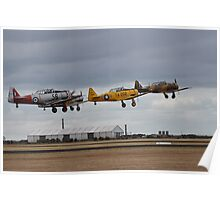Southern Knights Harvards, Point Cook Airshow, Australia 2014 Poster