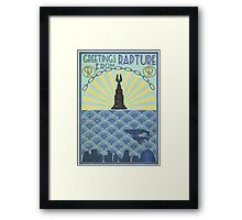 Welcome to Rapture  Framed Print