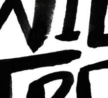 Wild and Free II Sticker