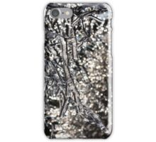 Christmas Decorations by Mother Nature - Encapsulated Branches and Brilliant Bokeh iPhone Case/Skin