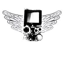 Winged Gameboy by Thomas Shaw