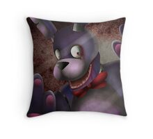 Creepy Bonnie Throw Pillow