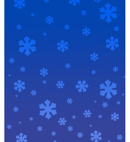 Snowflakes in the Winter Sticker