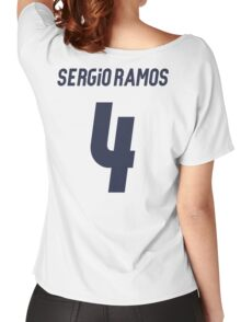 Sergio Ramos 4 Women's Relaxed Fit T-Shirt
