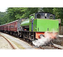 Old Railway Steam Tender Photographic Print