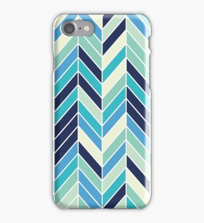 BLUE HERRINGBONE - [iPhone Case] iPhone Case/Skin