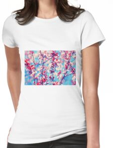 Blooming Womens Fitted T-Shirt