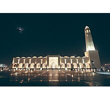 Qatar State Mosque Photographic Print