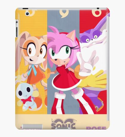 Team Rose - Sonic the Hedgehog iPad Case/Skin
