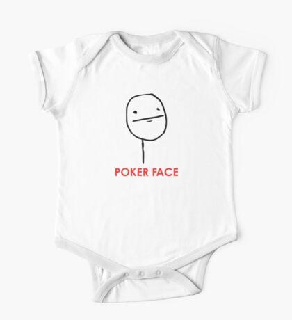 MEME: Poker Face One Piece - Short Sleeve