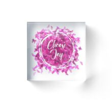 Choose Joy - Inspirational Quote Acrylic Block