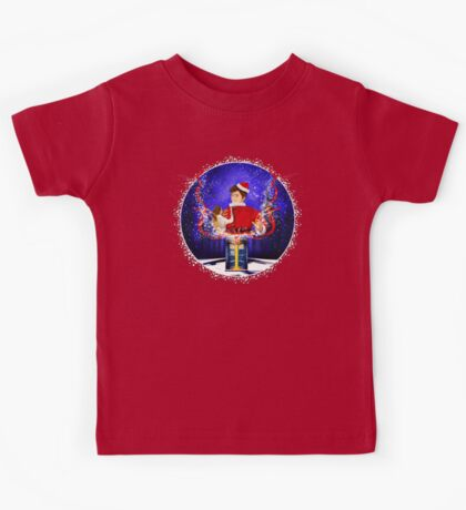 10th Doctor celebrate Christmas Kids Tee