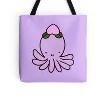 Peach Octopus Tote Bag