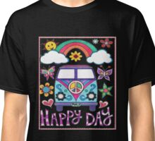 Peace Bus - Happy Day Graphic T-Shirt & Gear Classic T-Shirt
