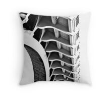 spina Throw Pillow