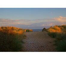 Sunset and Set Sand......!! Photographic Print